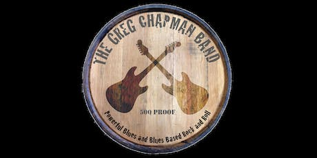 The Greg Chapman Band at Cheers in Rancho Penasquitos - Powerful Blues! tickets