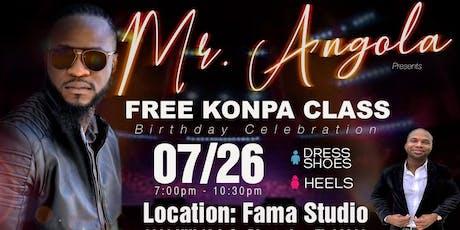 MrAngola BDay Class tickets