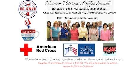 Women Veteran's Coffee Social tickets