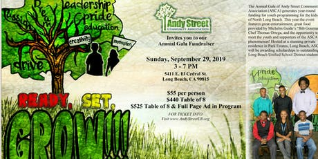 Andy Street Community Association Annual Gala Fundraiser tickets