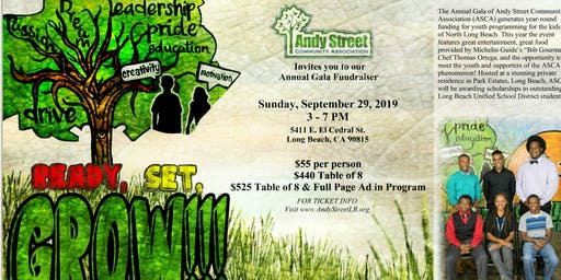 Andy Street Community Association Annual Gala Fundraiser
