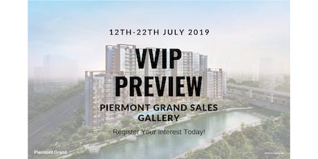 VVIP Preview Launch Day for Piermont Grand Executive Condominium  tickets