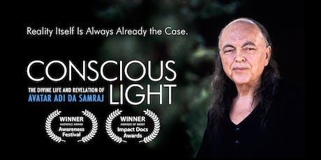 Conscious Light - Award Winning film on Adi Da Samraj tickets