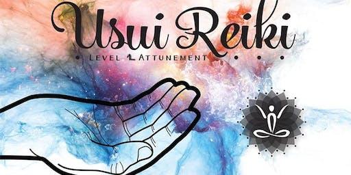 Certified Reiki 2 practitioner course & attunements