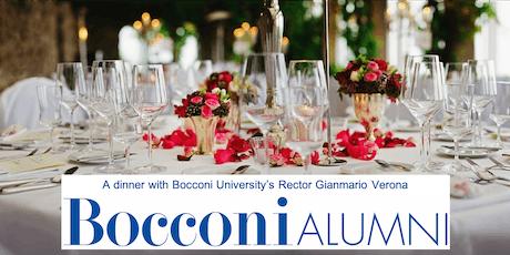 A dinner with Bocconi University's Rector Gianmario Verona tickets