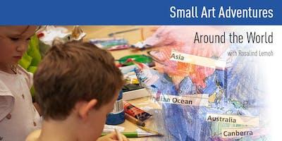 Small Art Adventures | Around the World