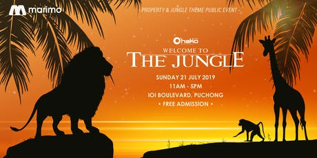 Welcome To The Jungle by Marimo Land Malaysia tickets