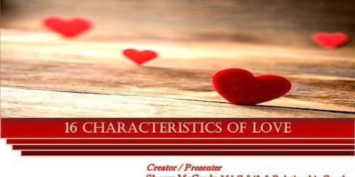 16 Characteristics of Love