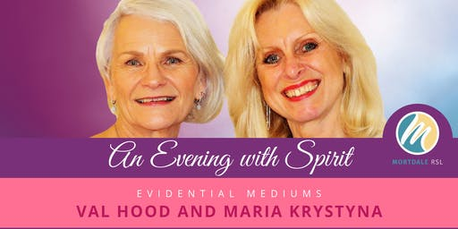 An Evening with Spirit - 30 August (Mortdale RSL NSW)