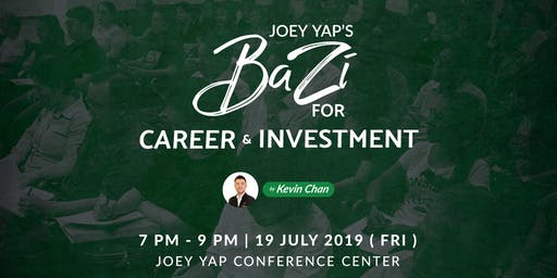Joey Yap's Bazi for Career and Investment by Kevin Chan