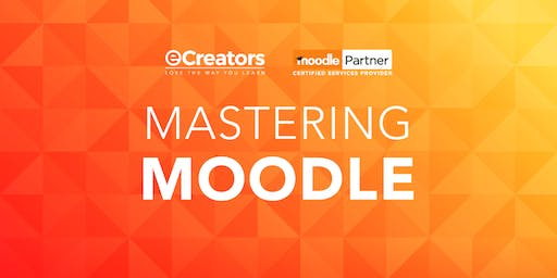 Moodle Administrator and Course Creator Workshop - Melbourne November Intake