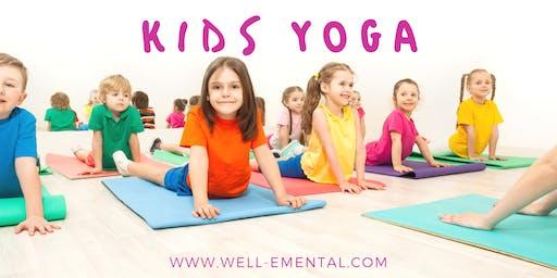 Kids Yoga (Ages 4-6)