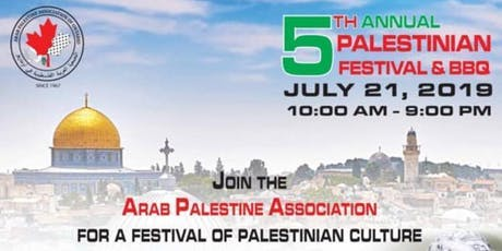 The Annual Palestinian Culture Festival and Eid Bazaar tickets