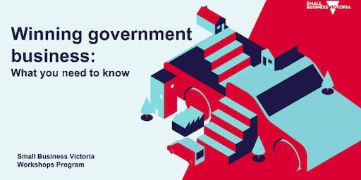 Winning Government Business