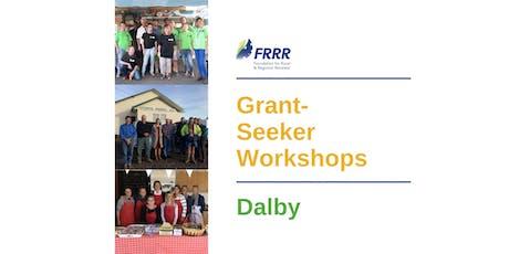 Free grant-seeker workshop - Dalby tickets