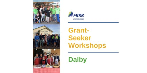Free grant-seeker workshop - Dalby