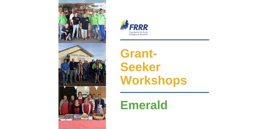 Free grant-seeker workshop - Emerald