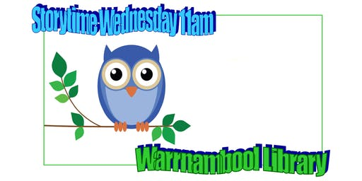 Story Time at Warrnambool Library - Wednesdays 11am