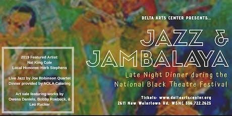 Jazz & Jambalaya Late Night Dinner at National Black Theatre Festival 2019 tickets