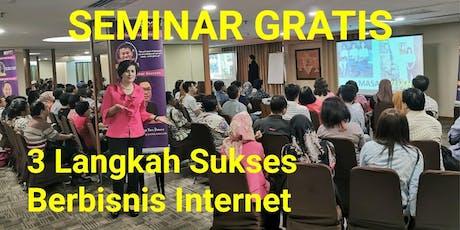 SEMINAR GRATIS INTERNET MARKETING (FREE 2 E-BOOK PREMIUM) tickets
