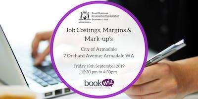 Job Costing, Margins & Mark-ups