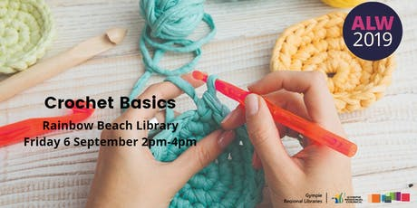 Crochet Basics at Rainbow Beach - Adult Learners Week tickets