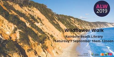 Wildflower walk at Rainbow Beach - ***** Learners Week