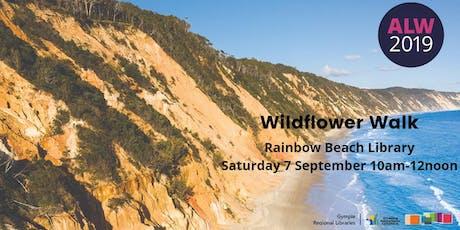 Wildflower walk at Rainbow Beach - Adult Learners Week tickets