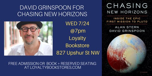 David Grinspoon for Chasing New Horizons
