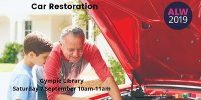 Car Restoration at Gympie - ***** Learners Week