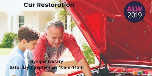 Car Restoration at Gympie - Adult Learners Week