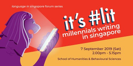 It's #Lit: Millennials Writing in Singapore tickets