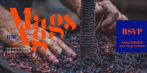 MAGS FOR AG @ VALETTE'S HEALDSBURG ON SUNDAY, JULY 28 @ 7PM