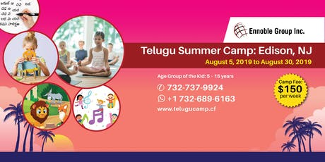 Telugu Summer Camp tickets