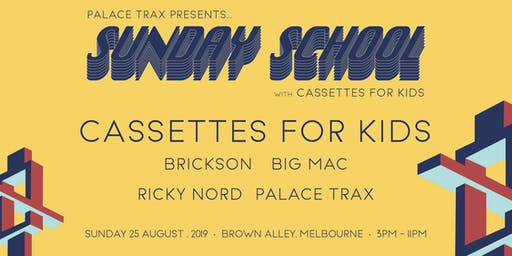 Sunday School with Cassettes For Kids