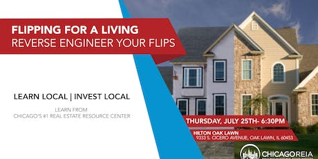 Flipping for a Living- Reverse Engineer Your Flips tickets