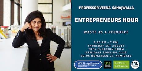 Entrepreneurs Hour: Professor Veena Sahajwalla - Armidale tickets