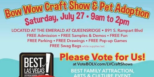 Bow Wow Craft Show & Pet Adoption