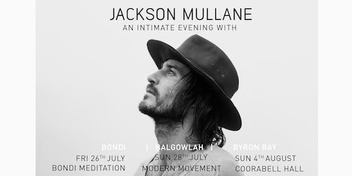 BYRON | AN INTIMATE EVENING WITH | JACKSON MULLANE