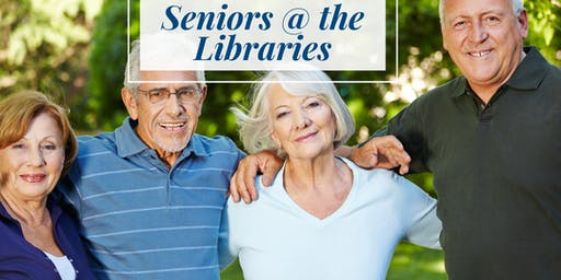 **BOOKED OUT** Seniors Month - Seniors @ the Libraries | Basket Weaving