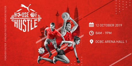 PUMA HOUSE OF HUSTLE tickets