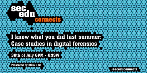 I know what you did last summer: Case studies in digital forensics