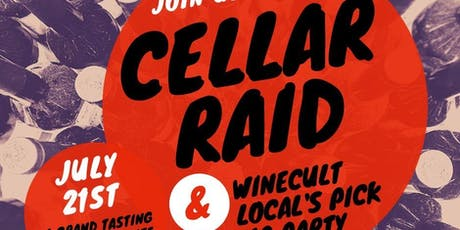 WINECULT CELLAR RAID tickets