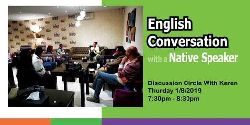 English Conversation with a Native Speaker