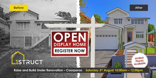 Renovation Display Open Home