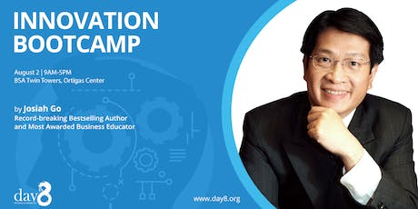 Innovation Bootcamp by Josiah Go tickets