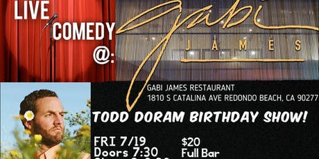 Live Comedy at Gabi James in Redondo Beach! tickets
