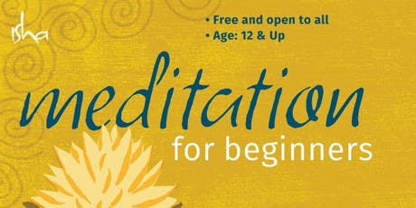 Meditation for Beginners-Coppell-FREE tickets