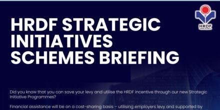 HRDF STRATEGIC INITIATIVE BRIEFING FOR EMPLOYERS (SARAWAK)