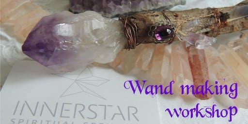 Wand making workshop